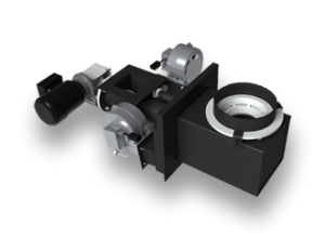 Kostrzewa Pellets Fuzzy Logic 15-100 kW - pellet égőfej emelt peremű acél égőfej betéttel zab elégetéséhez