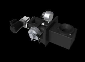 Kostrzewa Pellets Fuzzy Logic 15-100 kW - pellet égőfej acél égőfej betéttel pellet tüzeléséhez