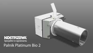 Kostrzewa Platinum Bio 50-300 kW pellet égőfej Lambda szondával