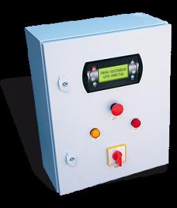 Pellets Fuzzy Logic 2 elektronikus kezelőegység és kapcsoló szekrény - Kostrzewa Platinum Bio 50-300 kW pellet égőfej