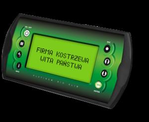 Platinum Bio Slim elektronikus kezelő egység - Kostrzewa Mini Bio Luxury automata pellet kazán
