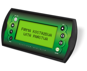 Platinum Bio elektronikus kezelő egység - Kostrzewa Compact Bio