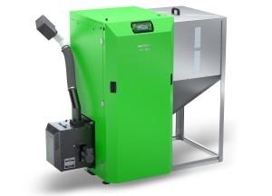 Kostrzewa Twin Agro 24 kW agri pellet kazán